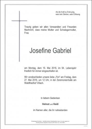 Josefine Gabriel