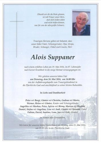 Alois Suppaner