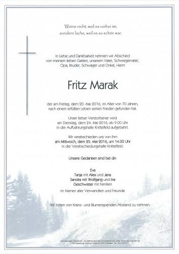 Fritz Marak
