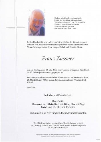 Franz Zussner