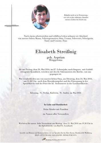 Elisabeth Streißnig