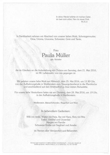 Paula Müller