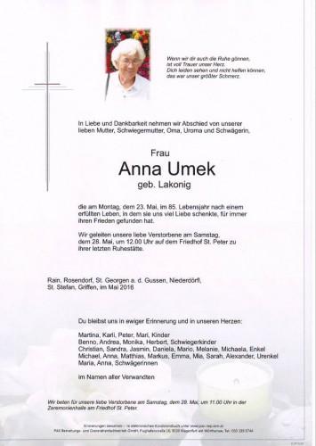 Anna Umek