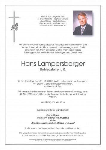 Hans Lampersberger
