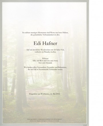 Edi Hafner