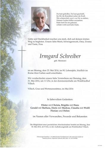 Irmgard Schreiber