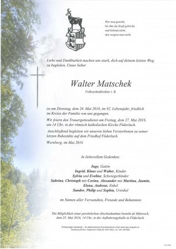 Walter Matschek