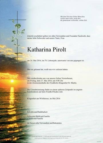 Katharina Pirolt