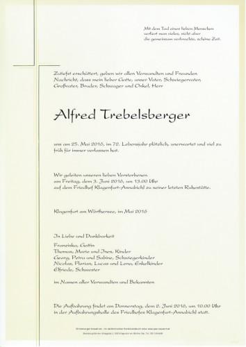 Alfred Trebelsberger