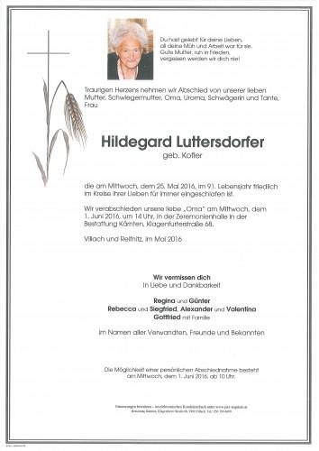 Hildegard Luttersdorfer