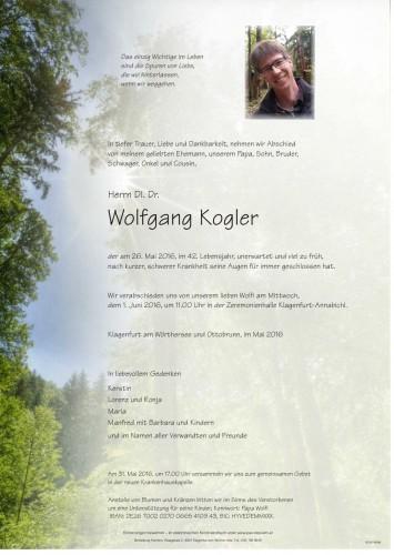 DI. Dr. Wolfgang Kogler