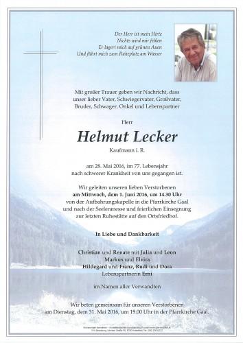 Helmut Lecker