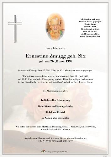 Ernestine Zmugg