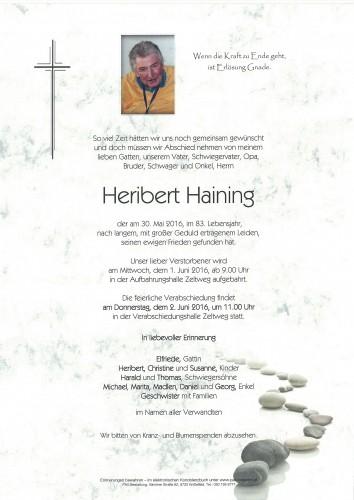 Heribert Haining