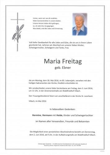 Maria Freitag