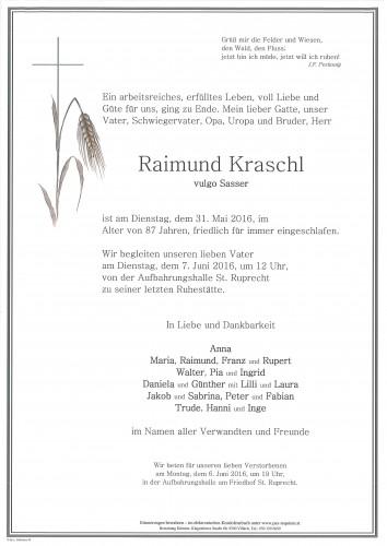 Raimund Kraschl