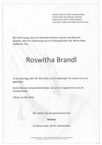 Roswitha Brandl