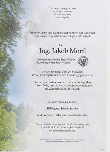Ing. Jakob Mörtl