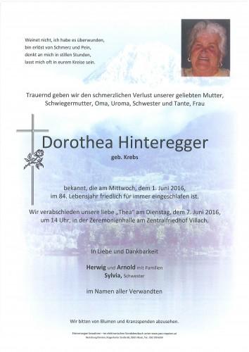 Dorothea Hinteregger