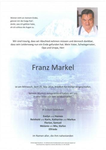 Franz Markel