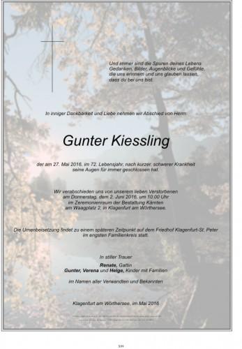 Gunter Kiessling