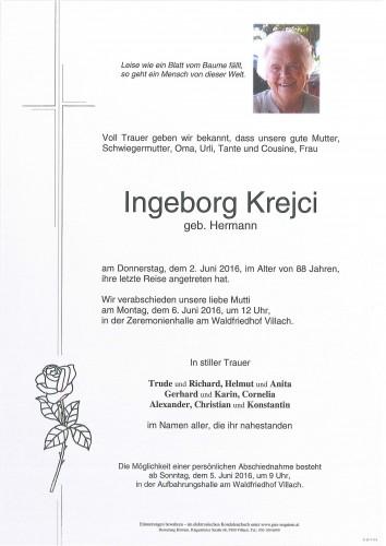 Ingeborg Krejci
