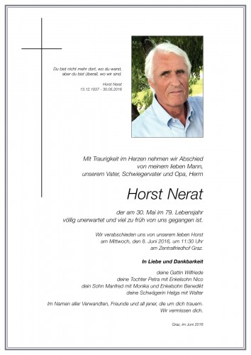 Horst Nerat