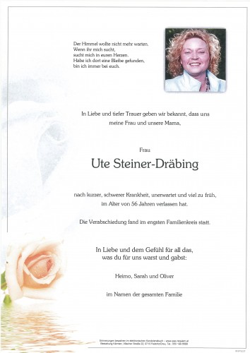 Ute Steiner-Dräbing