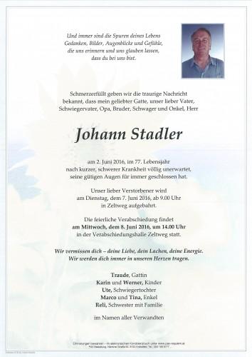 Johann Stadler