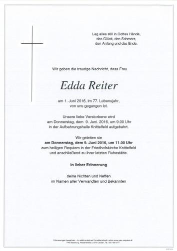 Edda Reiter