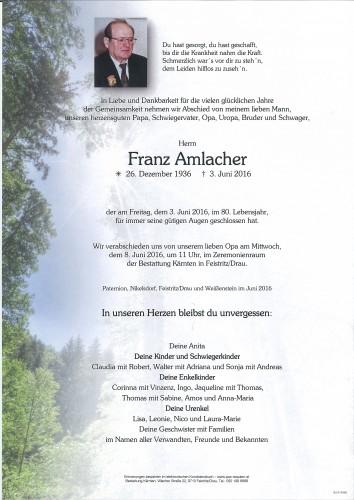 Franz Amlacher