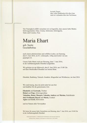 Maria Ehart