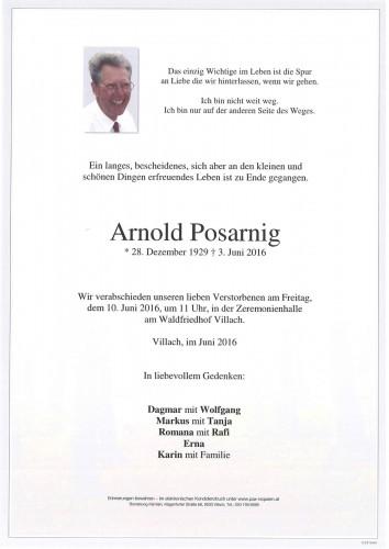 Arnold Posarnig