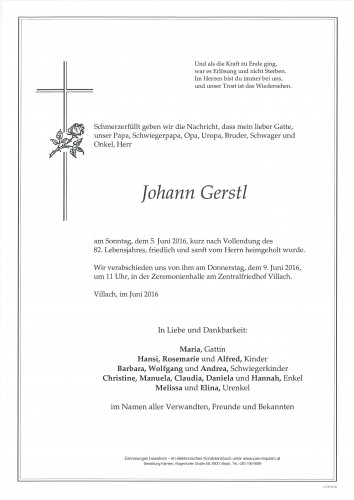 Johann Gerstl