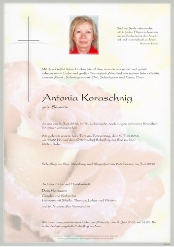 Antonia Koraschnig