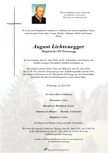 August Lichtenegger