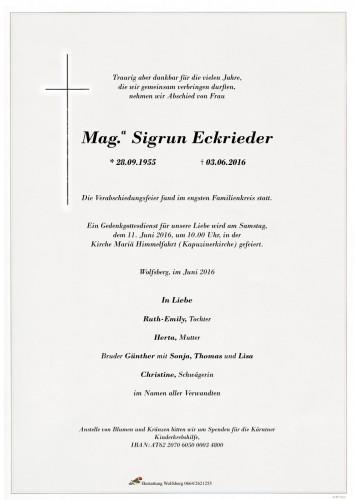 Mag.a Sigrun Eckrieder