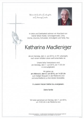Katharina Madleniger