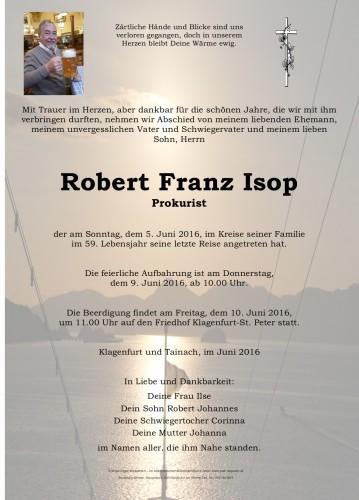 Robert Franz Isop