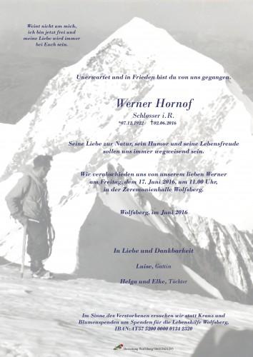Werner Hornof