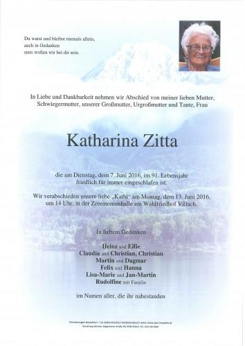 Katharina Zitta