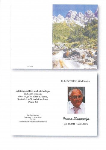 Franz Kravanja