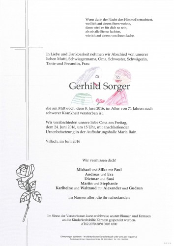 Gerhild Sorger