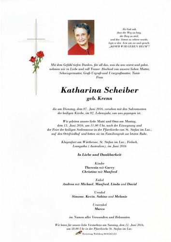 Katharina Scheiber