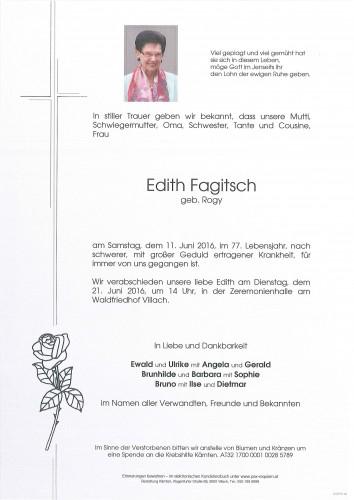 Edith Fagitsch