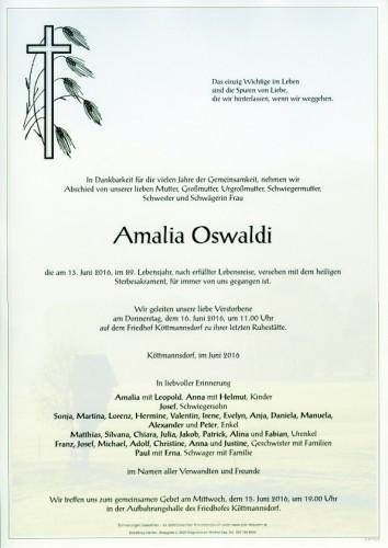 Amalia Oswaldi