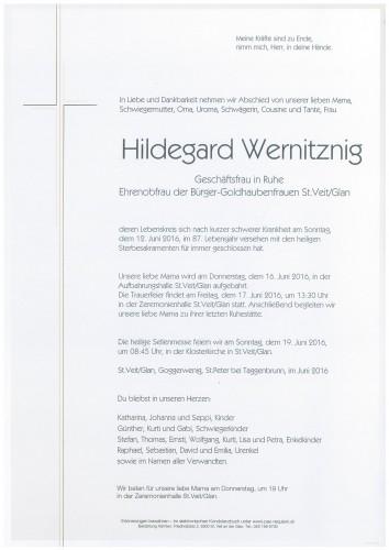 Hildegard Wernitznig