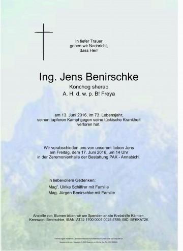 Ing. Jens Benirschke