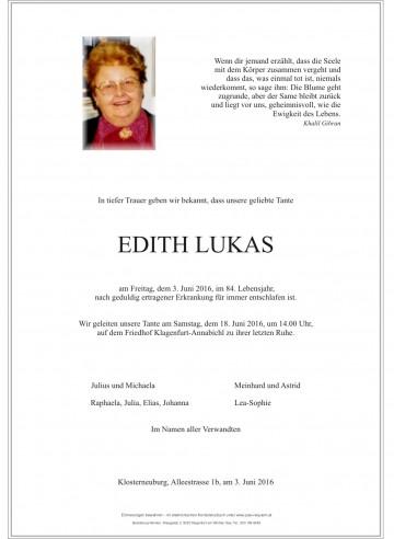 Edith Lukas