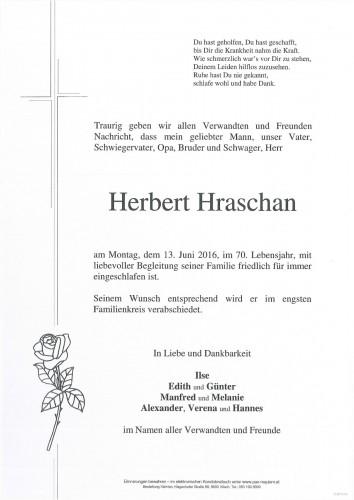 Herbert Hraschan